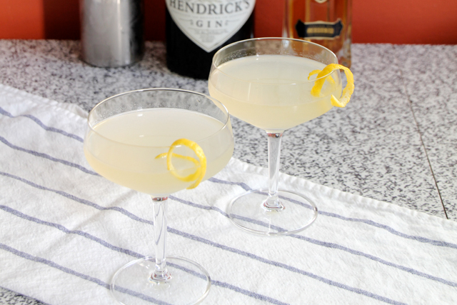 Gin Elderflower Cocktail
