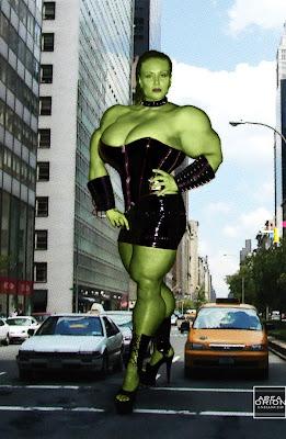 Robin Coleman Hellga Hulk