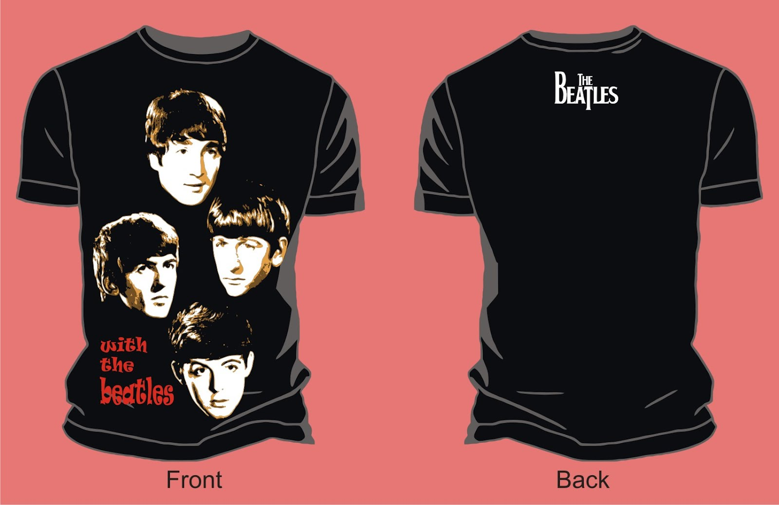 the_beatles-with_the_beatles_vector