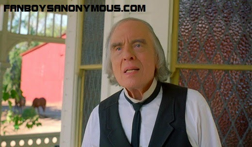 Angus Scrimm in Phantasm: Oblivion as Jebediah Morningside pre-Tall Man