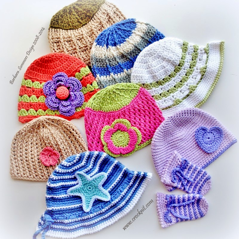 BAMBINI CROCHET Ebook - BABY HATS