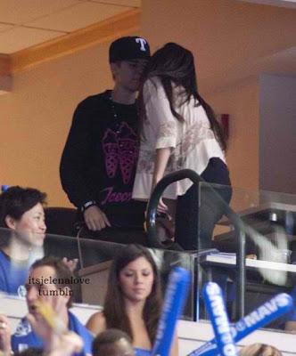 Selena Bieber NBA Smooch