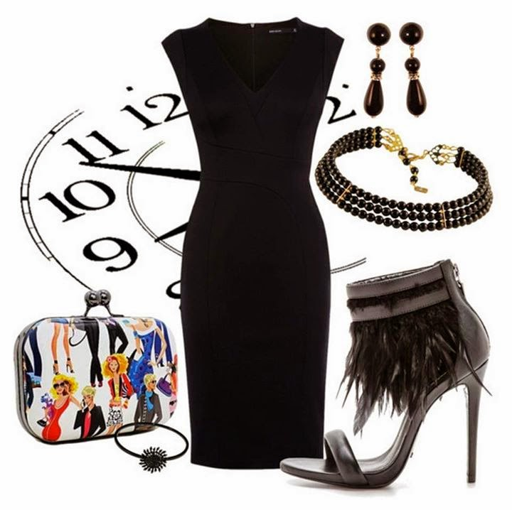 Latest Black Outfits For Ladies..