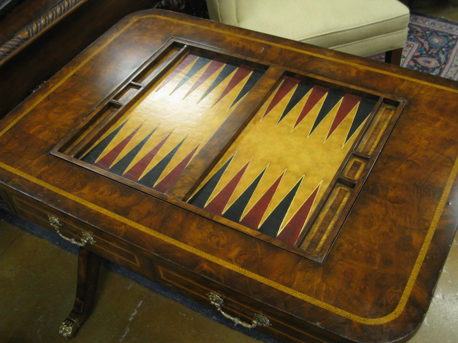 Bon This Is A Great Vintage Game Table ...