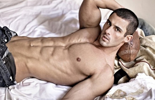 Picture About Male Model Derek Richardson Pictured by Richard Gerst
