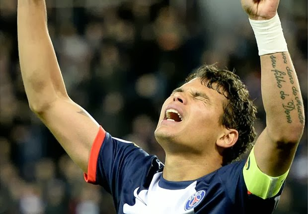 Thiago Silva: Abidal the best defender in the world