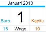 Kalender Jawa Online