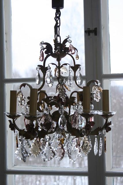 antik kristallkrona