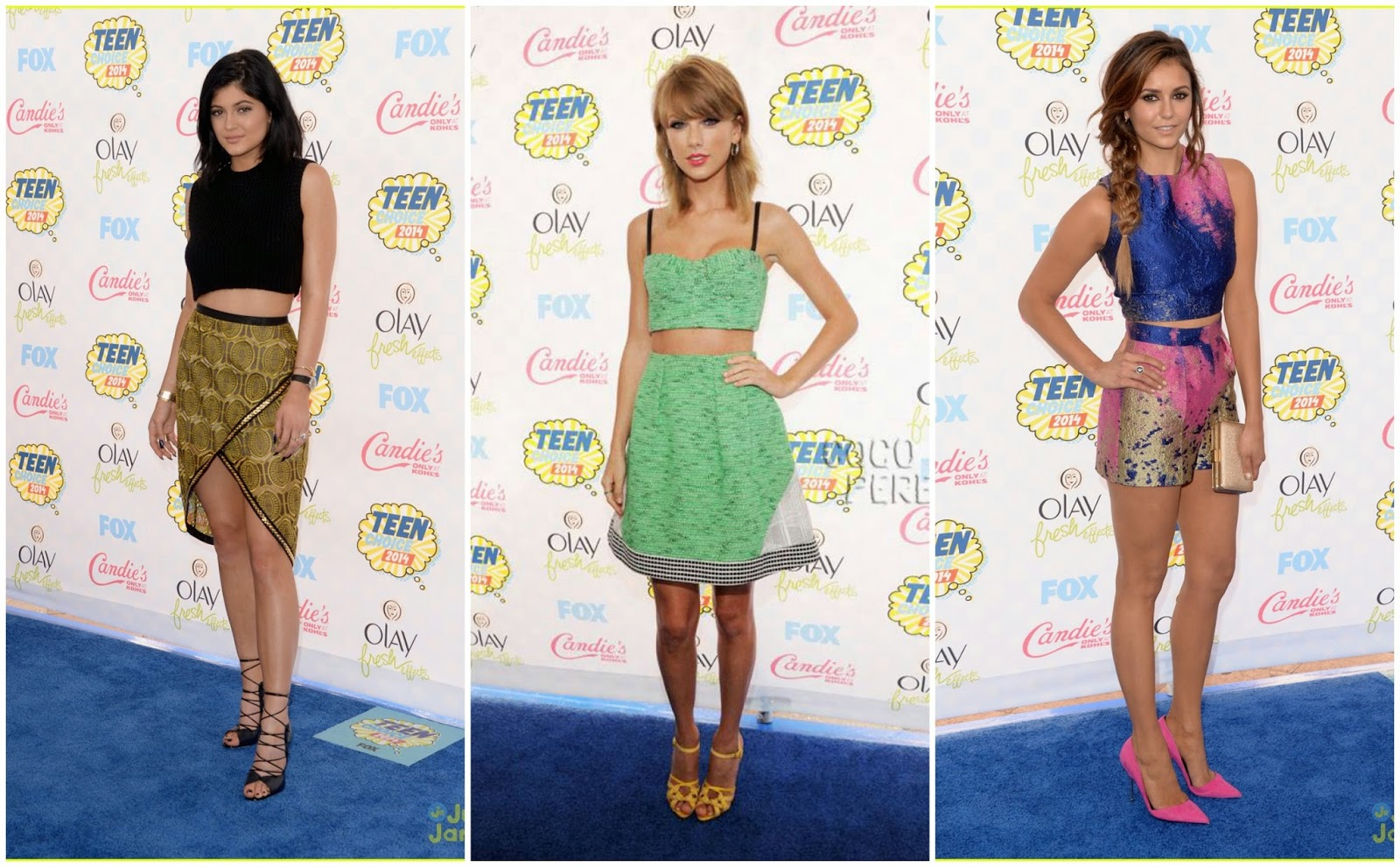 Best outfits at Teen Choice Awards 2014 Ceremony