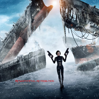 Mila Jovovich Resident Evil Retribution iPad Wallpaper