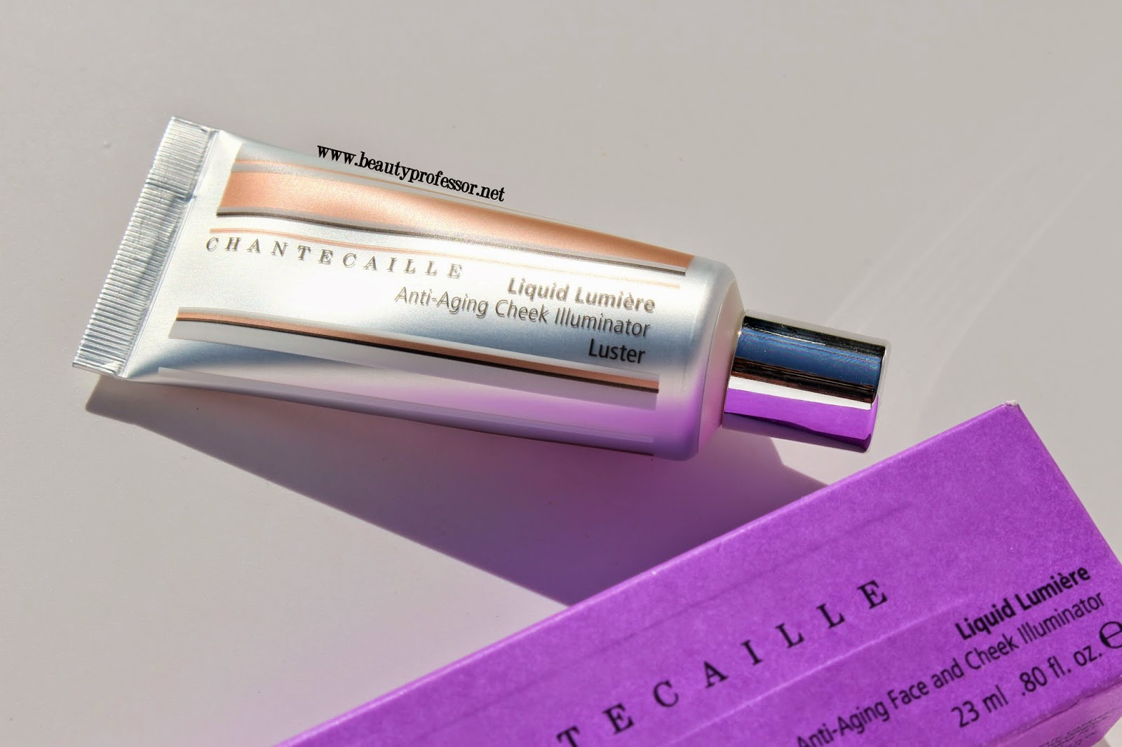 chantecaille liquid illuminator luster swatches