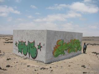 Detienen a chilenos por realizar grafitis