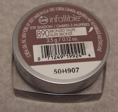 l'oreal infallible bronzed taupe