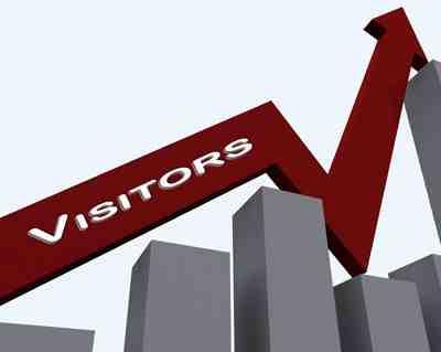 ribuan pengunjung blog