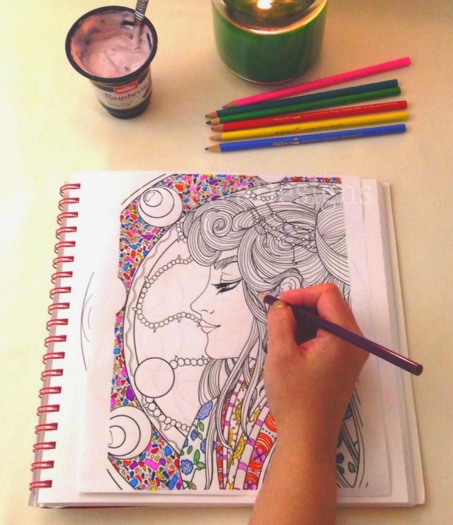 coloring mandalas me moment