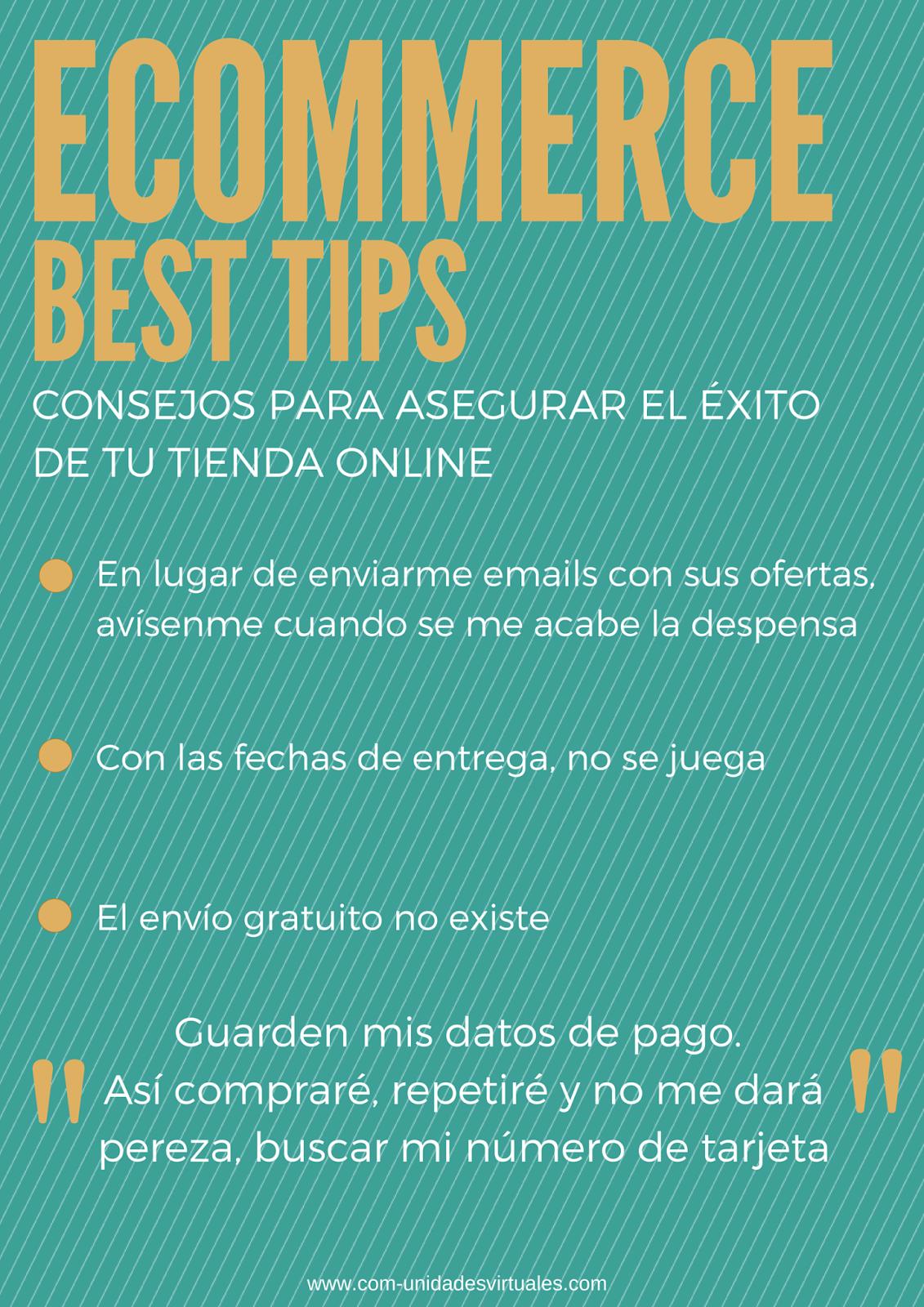 Los mejores tips para asegurar el éxito de tu tienda online