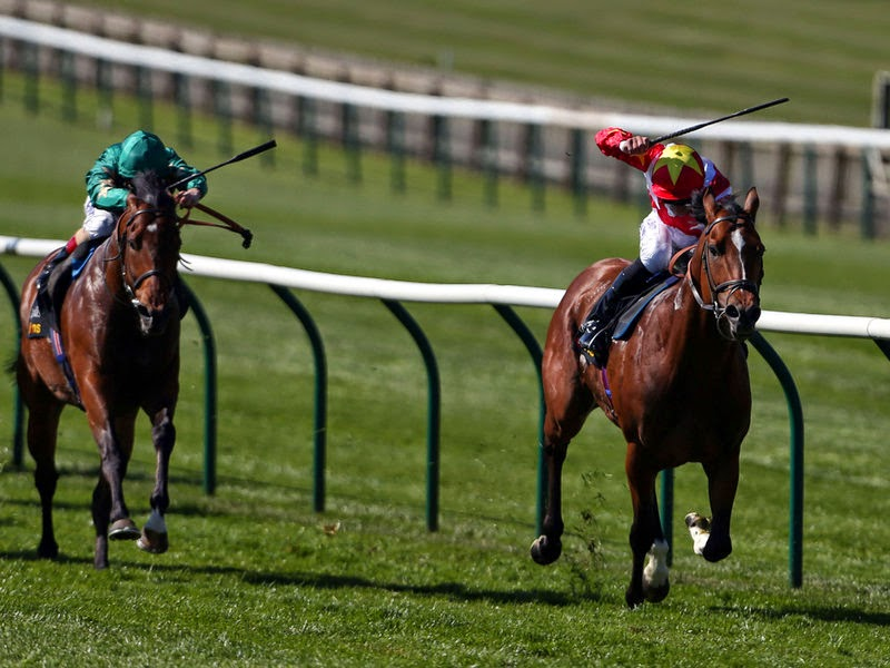MAGNUS MAXIMUS (33/1) Winning For Us On The Opening Day Of The 2014 Flat Season At Newmarket