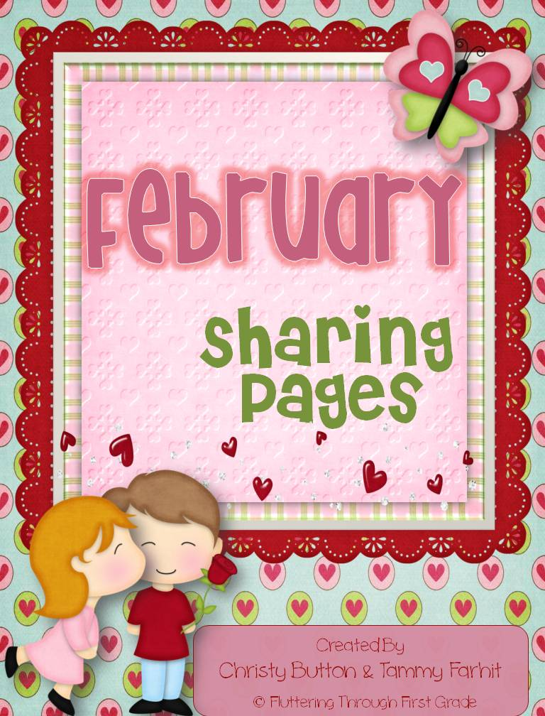 http://www.teacherspayteachers.com/Product/February-Writing-Pages-for-Class-Share-Time-464374