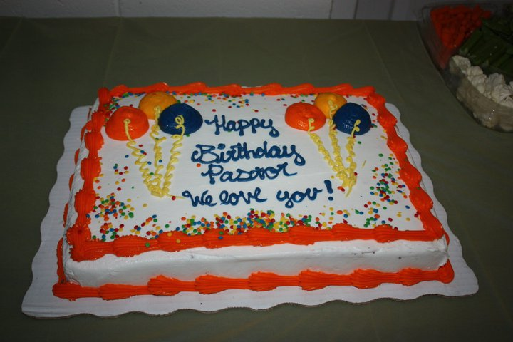 All About Us Happy Birthday Pastor Heard