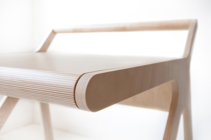 modern detail - minimal desk from Rafa-kids