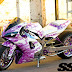 Modifikasi Yamaha YZF-R1 Tahun 2000 Cantik ala Cewek