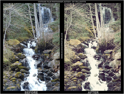 Vintage Film Example Vintage Film Action Untuk Photoshop CS