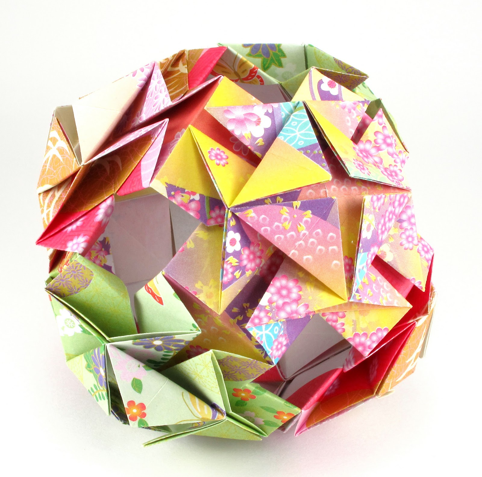 Bead Origami Origami Interlude Flower Cube