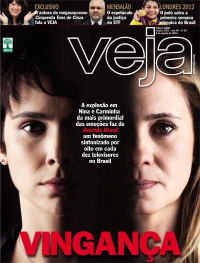 Na semana 'do' Mensalão eis a Capa da @veja (Nina e Carminha)