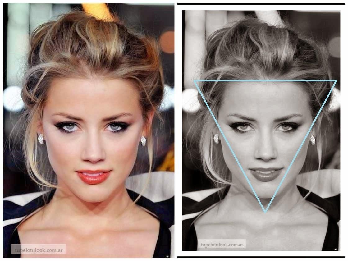 Maquillaje y peinado para rostro triangular Oriettabock - Peinados Rostro Triangular