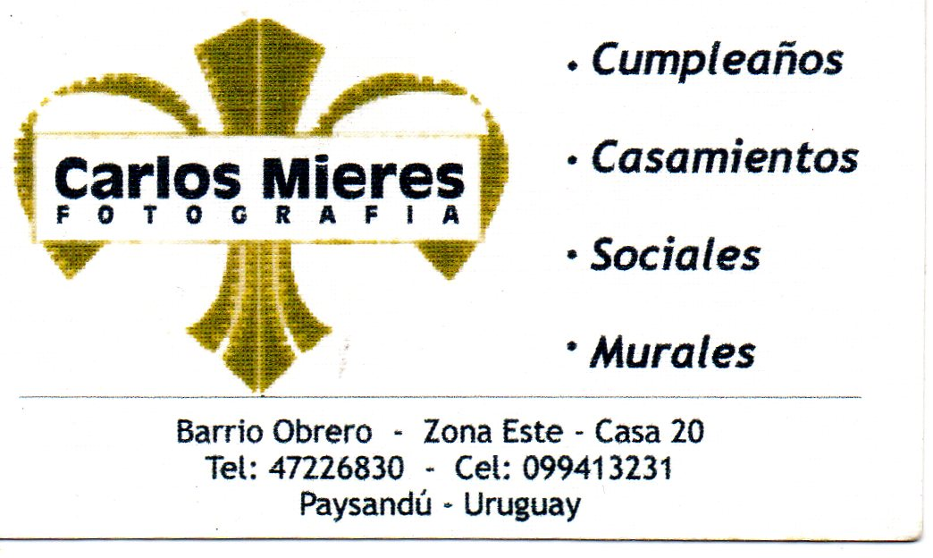 Carlos Mieres - 099413231