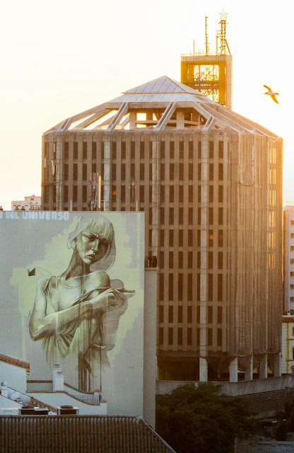 South African Painter Faith47 Newest Mural On The Streets Of Malaga, Spain For Maus Malaga Urban Art Festival. 4