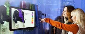 vitrines interativas