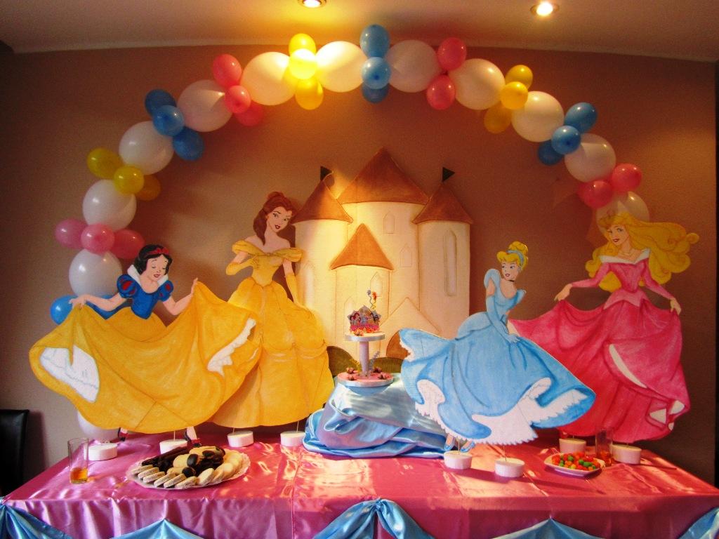 Decoracion cumpleaos princesas decoracion princesas for Decoracion de princesas