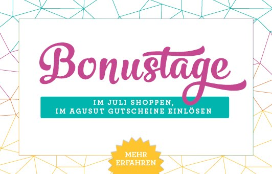 "Aktion ""Bonustage"""