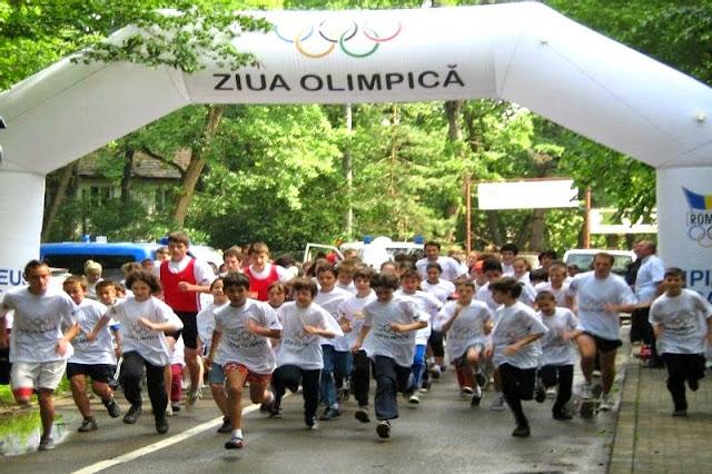 Crosul Olimpic Timişoara. 7 iunie 2015. Alergare prin Parcul Rozelor şi Parcul Copiilor. Start
