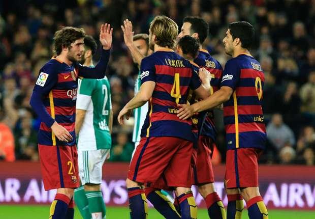 Kalahkan Real Betis 4-0 Barcelona Kian Kohoh dipuncak Klasemen