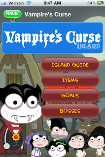 Vampire's Curse walkthrough app now available for free!
