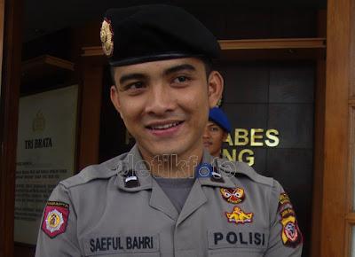 Polisi Ganteng Bripda Saeful Bahri