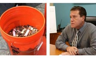 Membayar Denda Pakai Uang Receh, Wali Kota Digugat