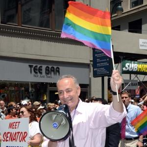 New York Senator Charles Schumer