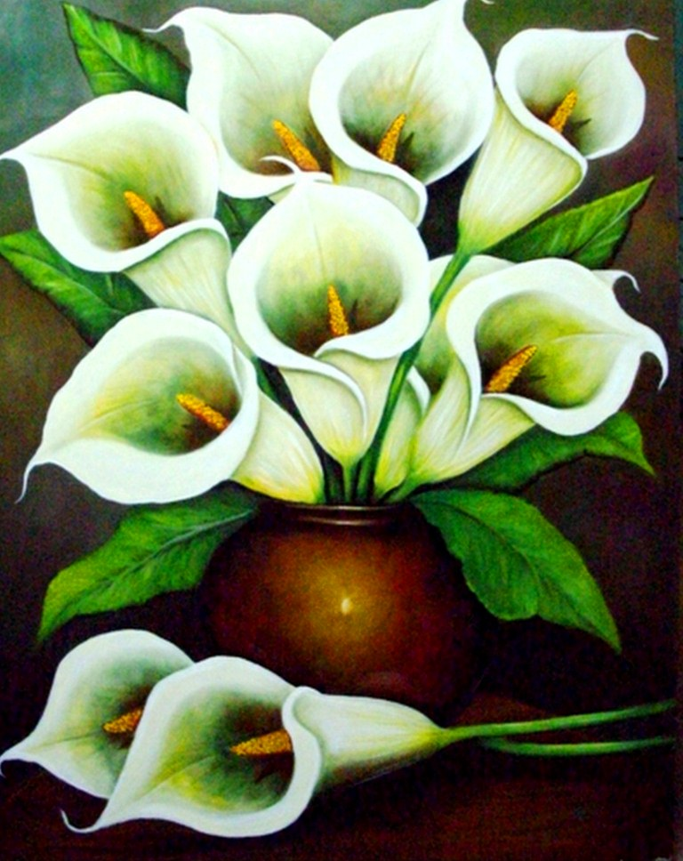 cuadros con flores decorativos cuadros modernos con flores pinturas