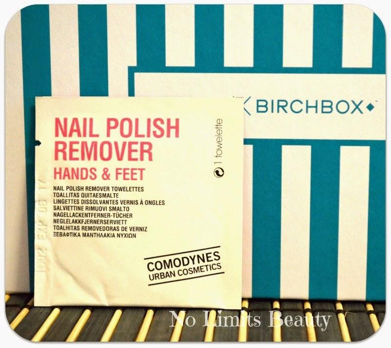 BirchBox Enero 2015 -  Comodynes Nail Polish Remover
