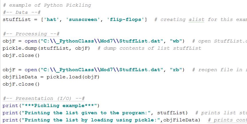 Python Class: Assignment 7: Python Exception Handling and Python ...