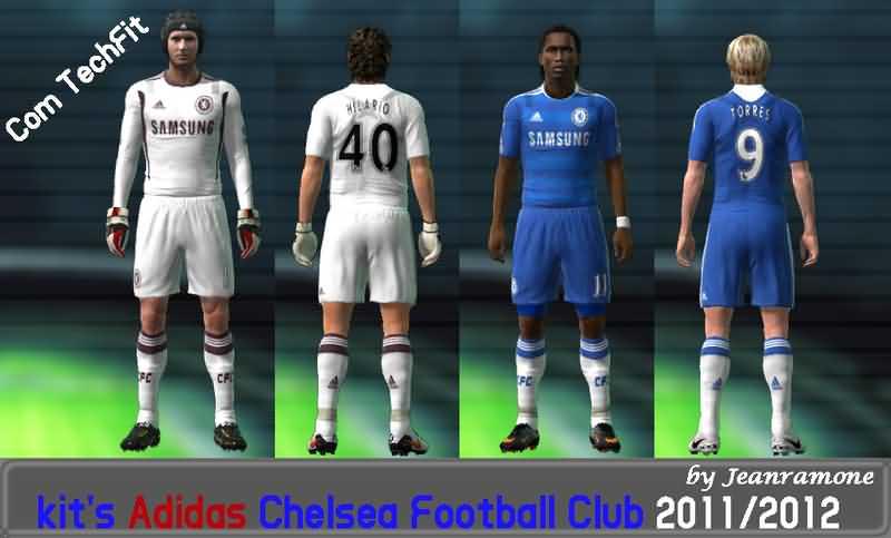 Kitset Chelsea F C  Adidas Techfit By JeanRamone