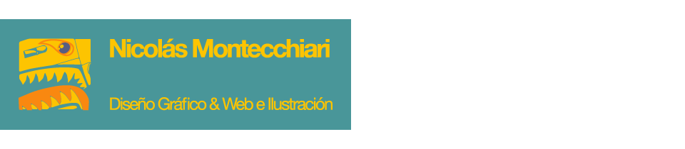 Nicolás Montecchiari - Gráfica, Web e Ilustración