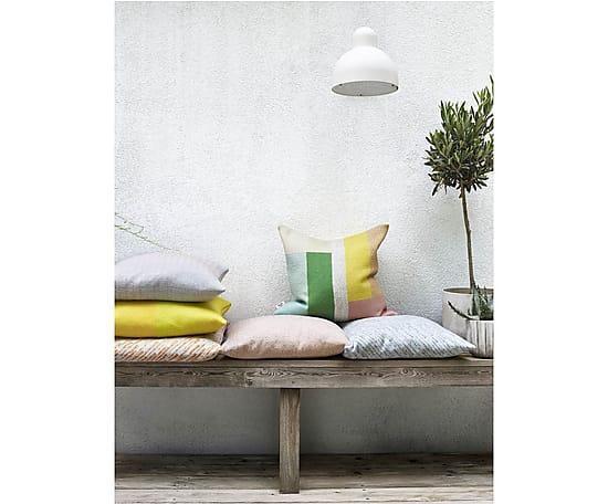 pillows spring colour geometric