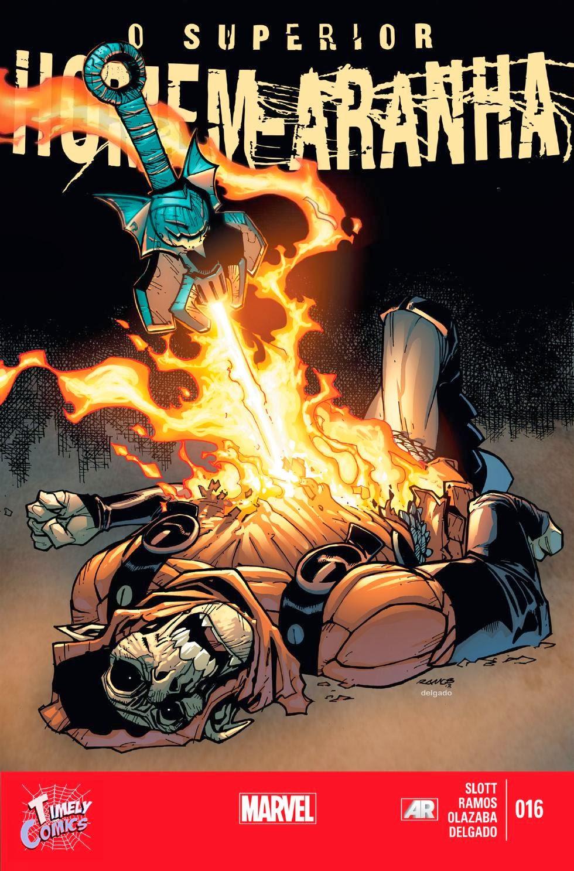 Nova Marvel! O Superior Homem-Aranha #16