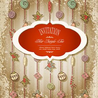 お洒落なクリスマス飾りのラベル christmas label vector イラスト素材