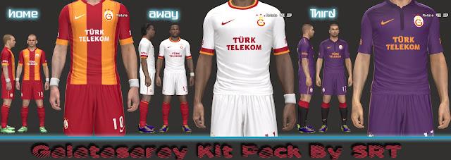 Kitset 2014/2015 do Galatasaray para PES 2014 PC