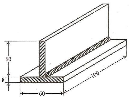 tee joint welding diagram